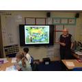Mr Leech sharing his memories of Binley Woods