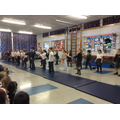 Our mummy dance!