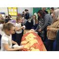 Banadaging the mummy!