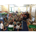 Finding out about being a dentist!