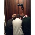 Three peeping Toms!!