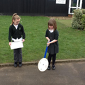 Measuring with a trundle wheel in maths