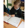 We made a graph to show our data.