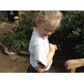 At the butterfly farm!