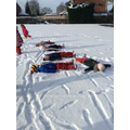 It's ok...we made snow angels!