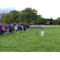 Launching their very own home made rockets