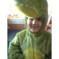 very smily crocodile!