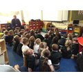 Brian told us all about hedgehogs