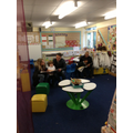 Quiet time sharing Learning Journeys