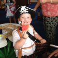 Arrrr healthy pirate snacks!