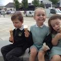 Ice-cream faces!