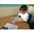 Using a numberline to help with times tables