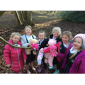 Our teddies really enjoyed the woods!