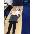 A mummy awaiting organ removal!