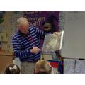 Mr Salisbury showing us some future plans