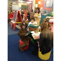 The big children came to read us stories!