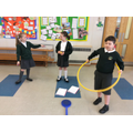 Designing a game in English using equipment
