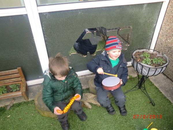 We love playing music!