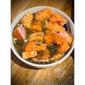 Emilia's Egyptian Salmon Kabob