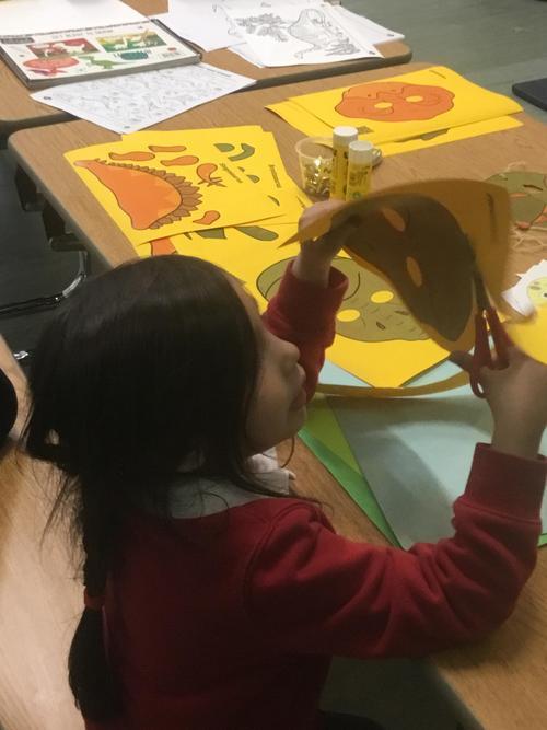 Dinosaur T-Rex Mask Making