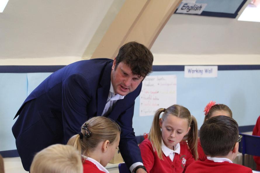 Mr Jennings Y6 & Assistant Headteacher