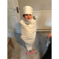 Avery the Mummy!