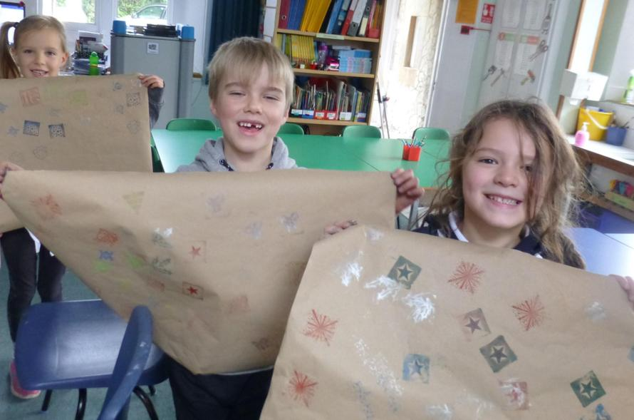 KS1 Governors Eden, Charlie and Alba