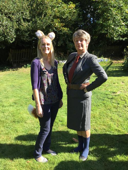 Mrs Robarts Teaching Assistant with Mrs Nicklin