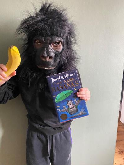Josh is Gertrude the Gorilla.