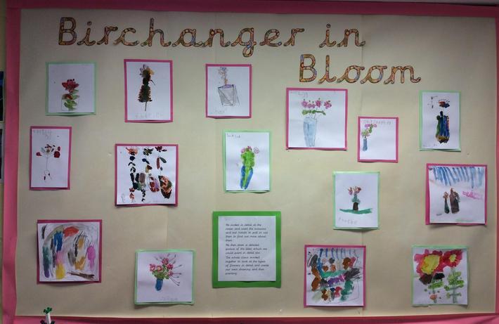 Birchanger in bloom paintings.