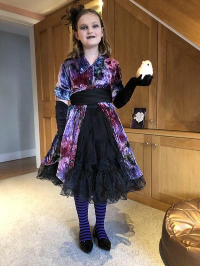 Matilda is Goth Girl.