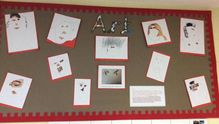 Picasso Art display.