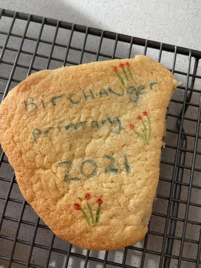 Lucia's Birchanger cookie!