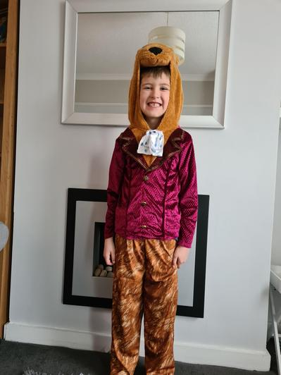Charlie is The Fantastic Mr Fox.