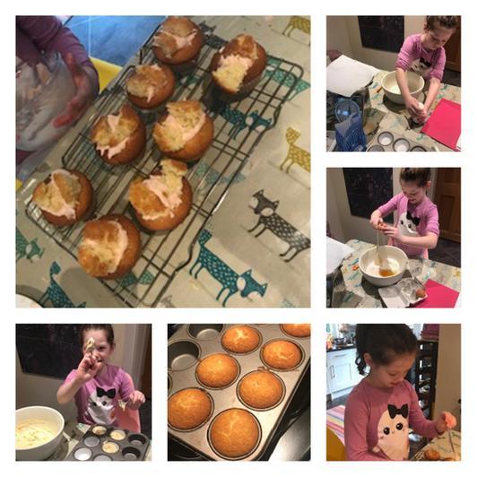 Florrie's fairy cakes.