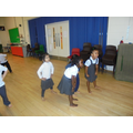 We were very good at choosing new movements!
