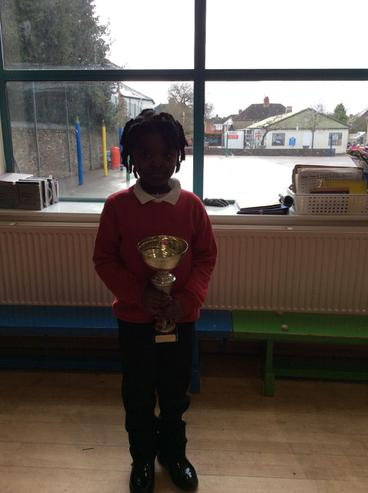 RJ won the attendance cup with 100%