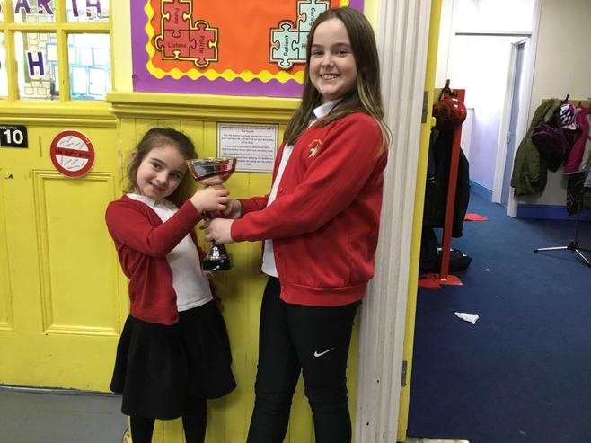 2BH and 6H won the attendance cup with 99.33%.