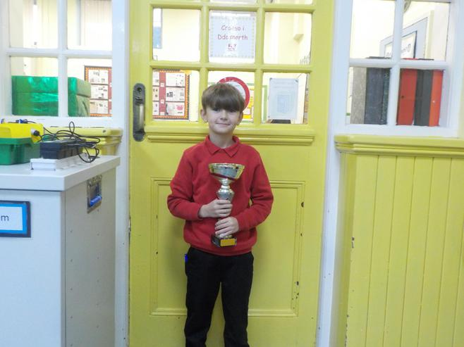 5J won the attendance cup with 100%