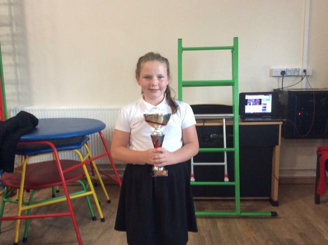 5W won the attendance cup with 100% attendance.