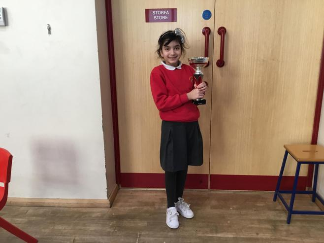 5B won the attendance cup with 99.67%