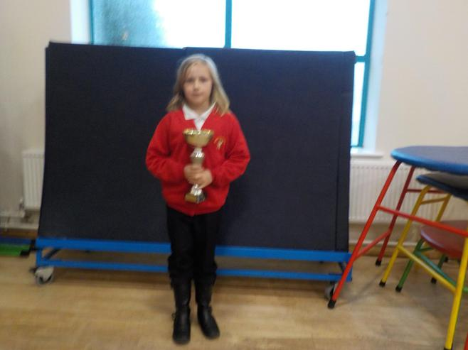 5W won the attendance cup with 100%.