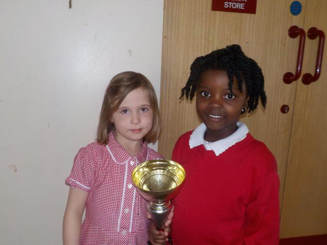 1D and 2CH won the attendance cup with 100%