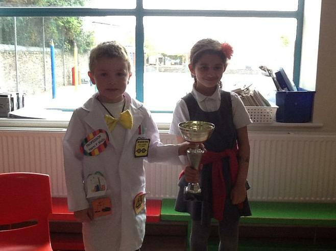 1D & 5J won the attendance cup with 100%