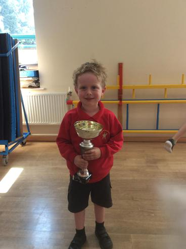 RJ won the attendance cup.