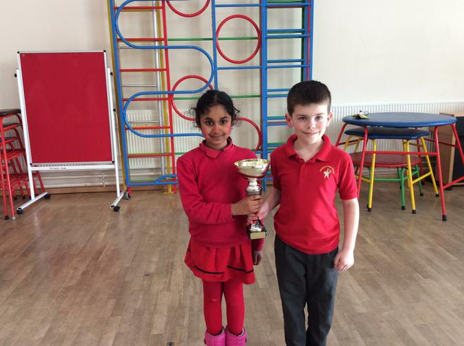 3H and 3W won the attendance cup with 98.67%