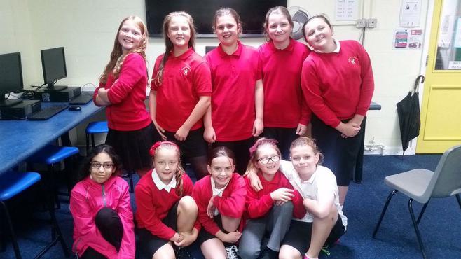 Birchgrove Girls Football Team
