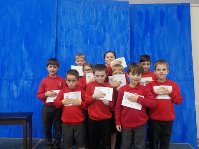 Certificates from Chess Competition