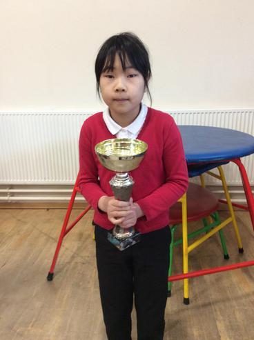 Class 4C won the attendance cup.