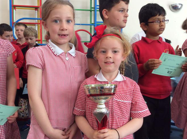 RBM and 1B won the attendance cup with 100%